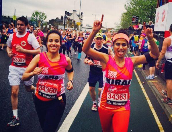 kiran- the marathon girl